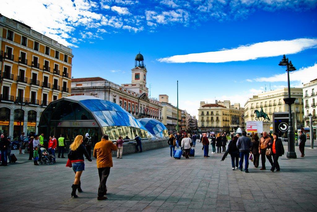 Puerta del Sol in Madrid image