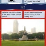 Rizal Park Infographic