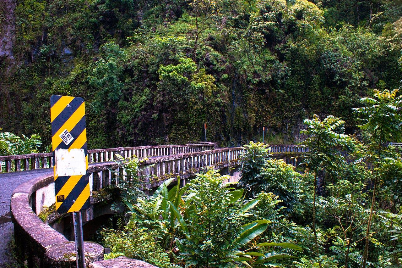 One of many bridges on the Road to Hana