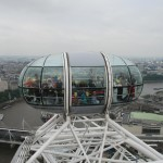 Sitting Capsule of London Eye