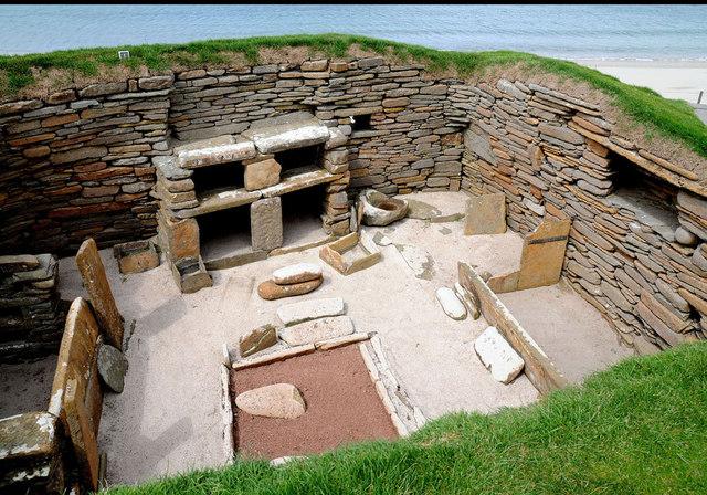 Skara Brae in Scotland