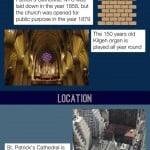 St. Patrick's Cathedral Infographic