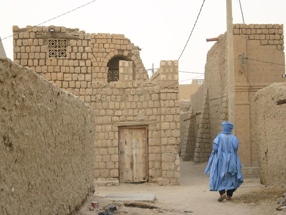 Streets of Timbuktu in Mali