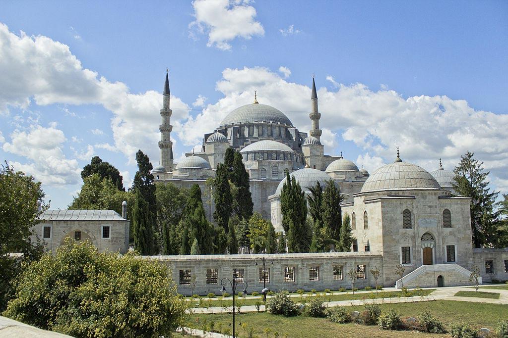 Süleymaniye Mosque at Istanbul, Turkey