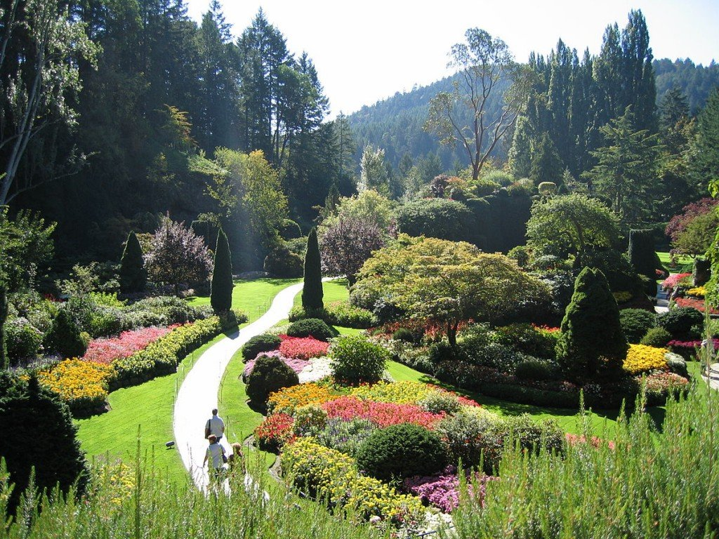 Butchart Gardens Travel Information