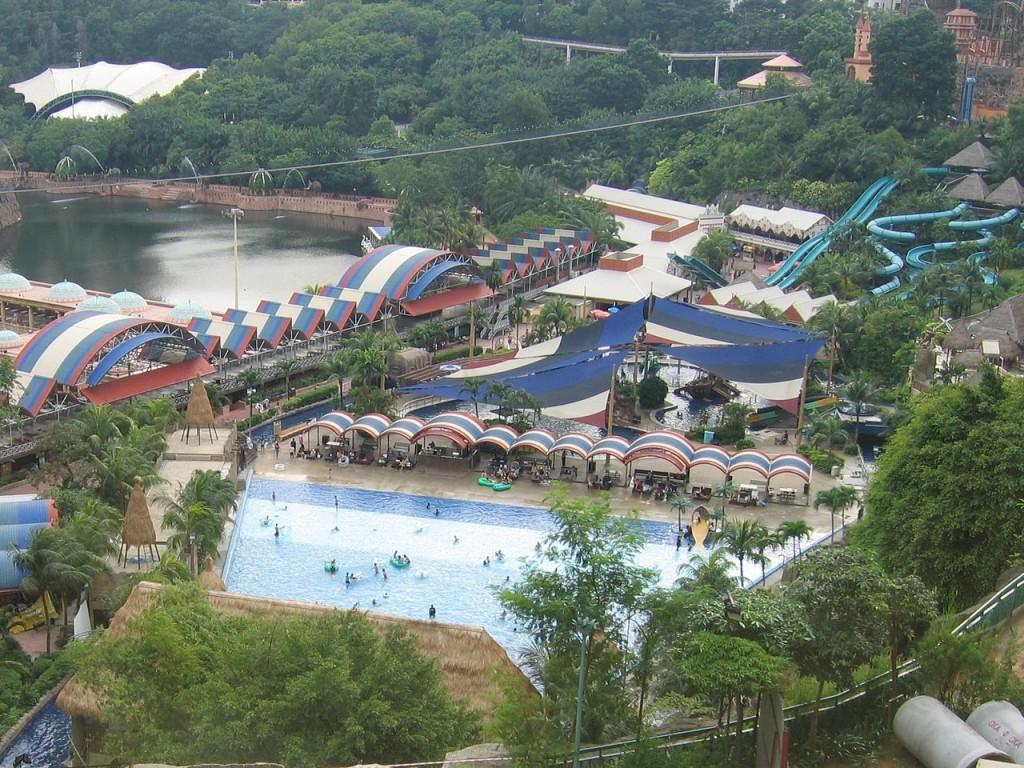 Sunway Lagoon in Malaysia