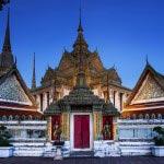Wat Pho at Bangkok, Thailand