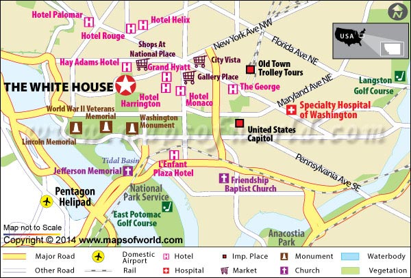 map of washington dc mall pdf