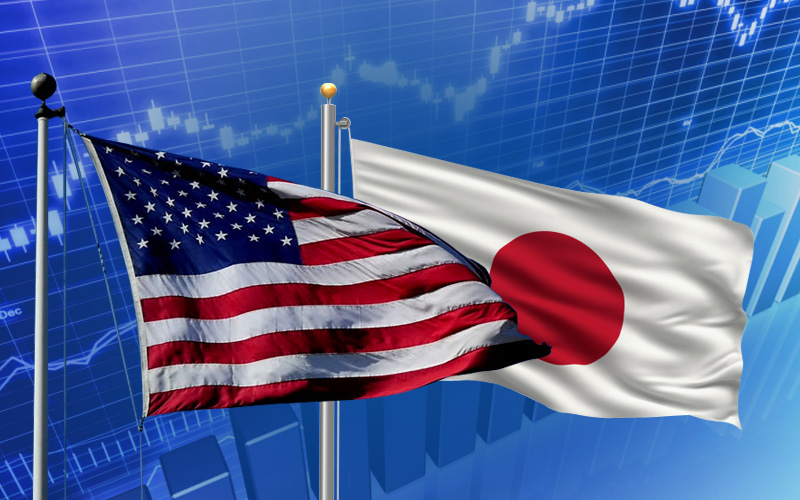 Uncover and compare facts about United States and Japan in terms of Economy Statistics, GDP (PPP) and Individual Wealth.