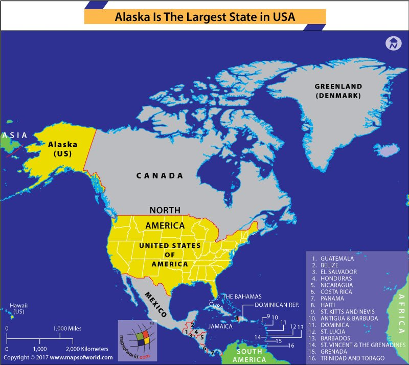 Which Is The Largest State In The United States Answers