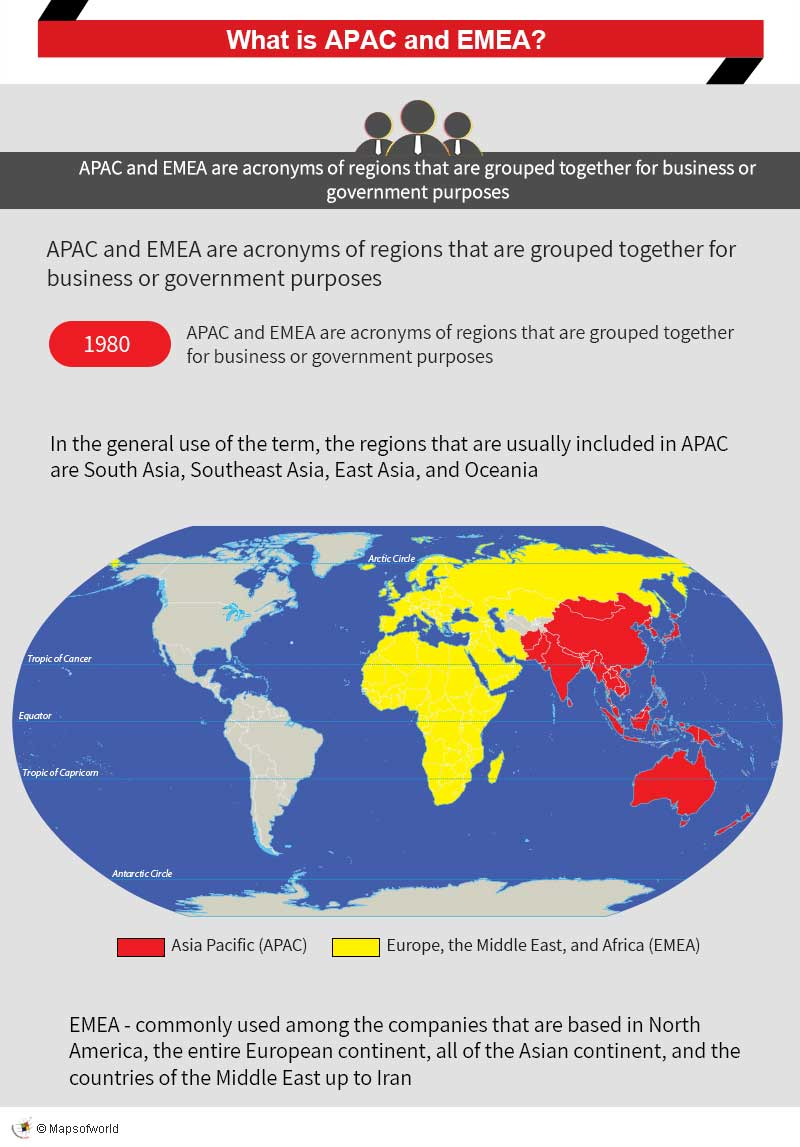 Infographic – what is APAC and EMEA