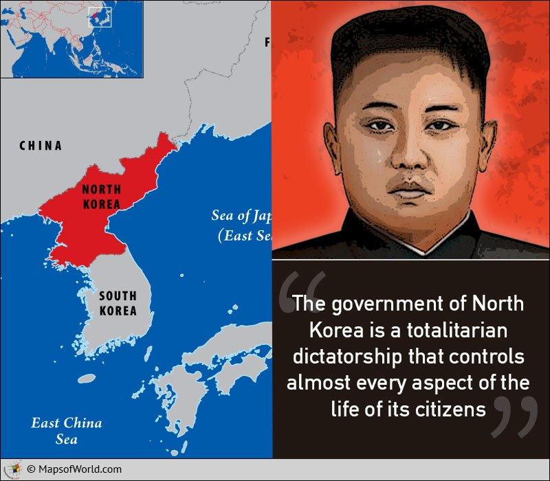 The Democratic People's Republic Of Korea, Known More Commonly As North Korea, Is A Dictatorship