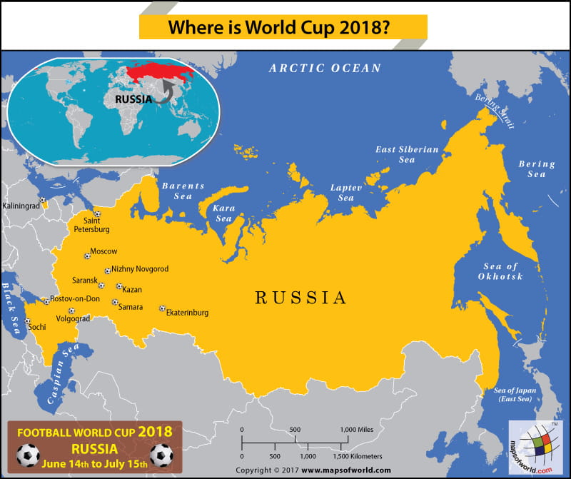 Russia map showing the football world cup 2018 host cities answers russia map showing the football world cup 2018 host cities gumiabroncs Gallery