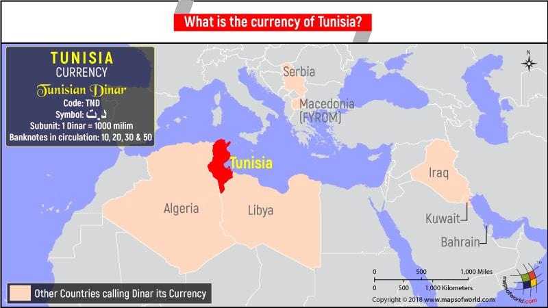 Map highlighting tunisia providing information about its currency map highlighting tunisia providing information about its currency gumiabroncs Choice Image
