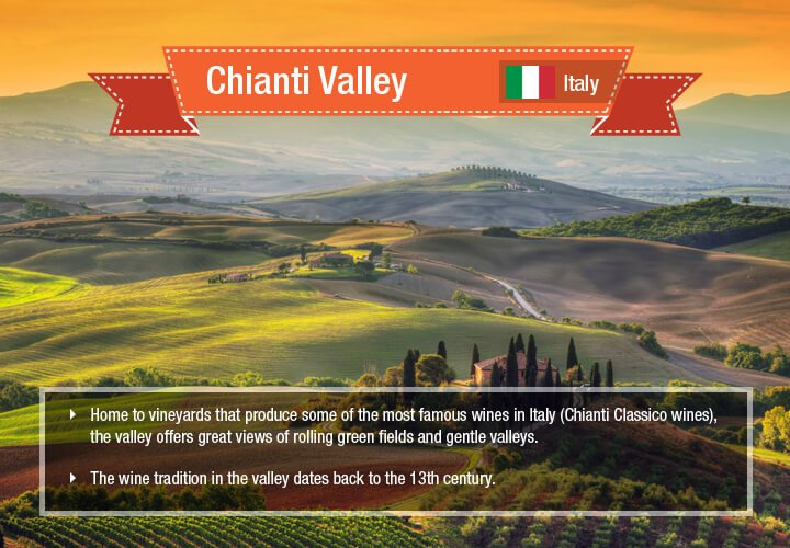 The wine tradition in the valley dates back to the 13th century