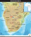 Okavango Delta Map