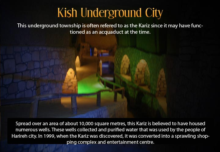 Infographic describing the underground city of Edinburgh