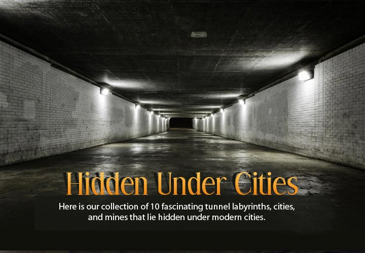 Areas which lie under the modern cities