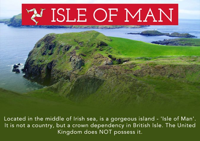 Isle of Man is a Gorgeous Island in The Middle of Irish Sea