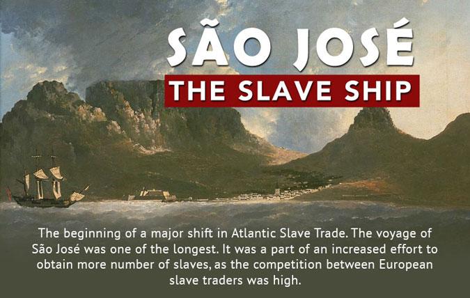 The Slave Ship São José was Estimated to be 130-feet Long