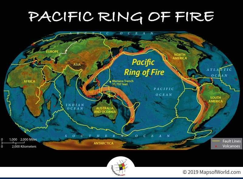What is The Pacific Ring of Fire? - Answers