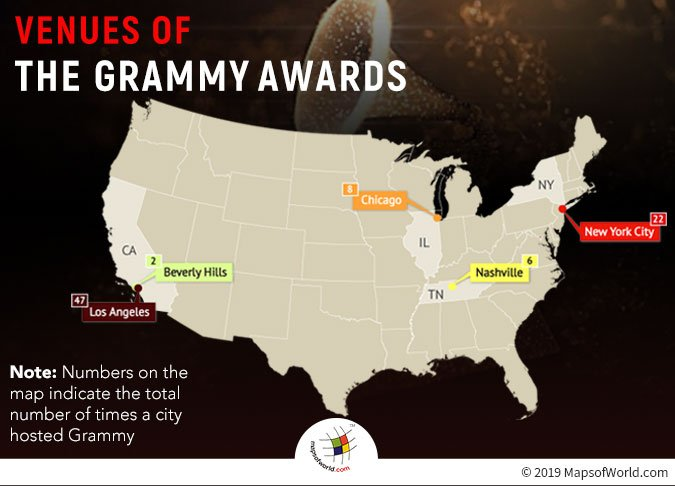 Grammy Awards Venues