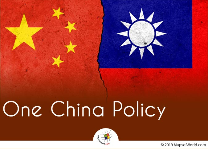 One China Policy Says Taiwan is a Part of China