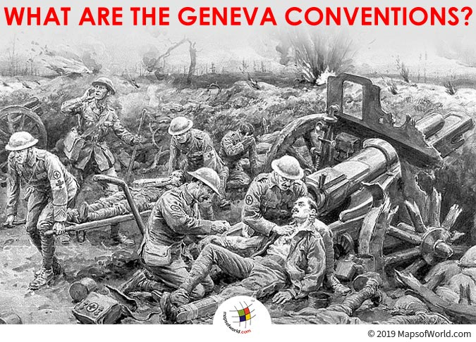 Geneva Conventions - A Series of Treaties Revised and Adopted in 1949