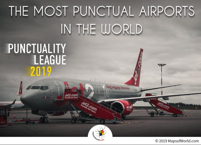 Punctuality Punctuality League 2019 - Punctual Airports in The World2019