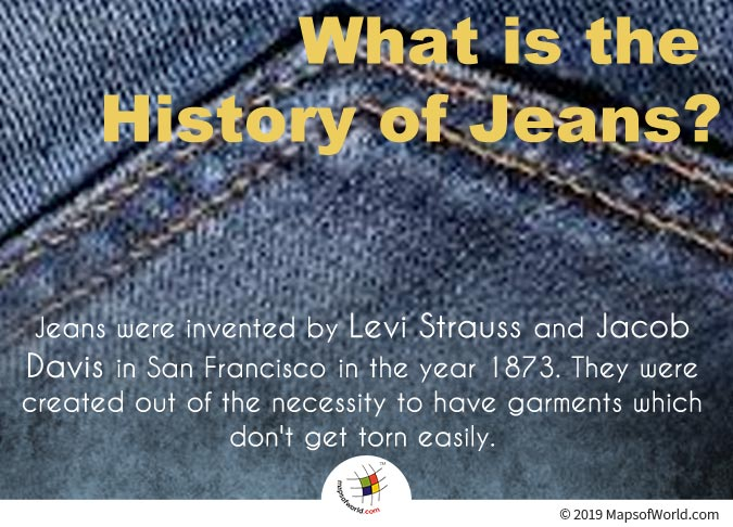 Jeans - A Rough and Tough Garment