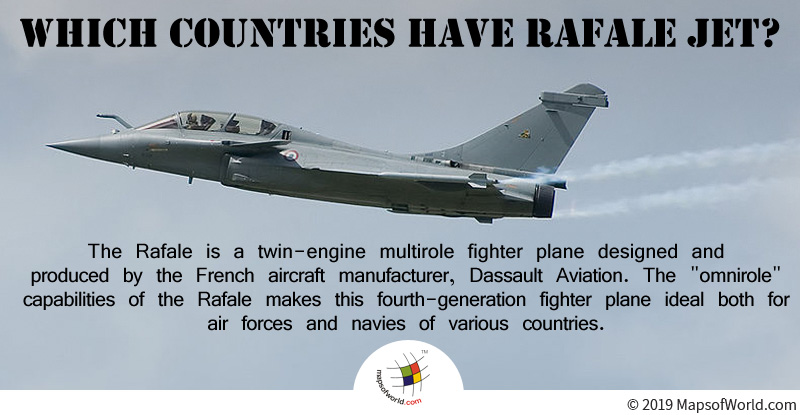 Rafale is Designed and Produced by the French Aircraft Manufacturer, Dassault Aviation