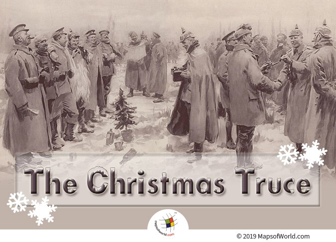 The Christmas Truce Took Place During The Time of Christmas 1914