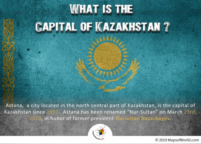 Capital of Kazakhstan - Nur-Sultan