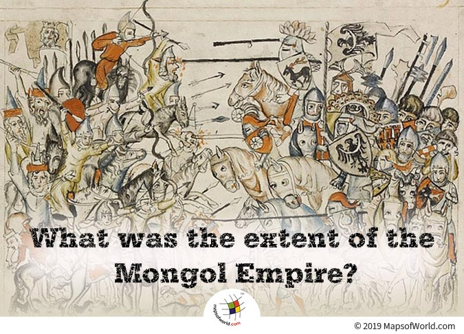 The Mongol Empire was Founded by Genghis Khan in 1206