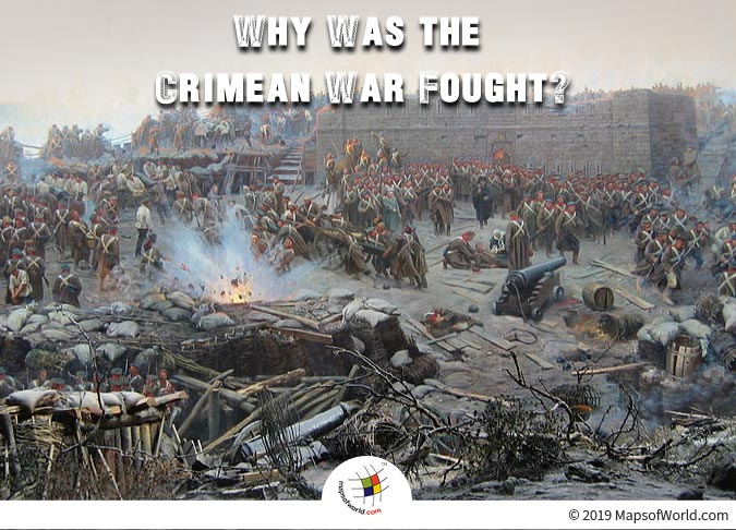The Crimean War took place in 1853