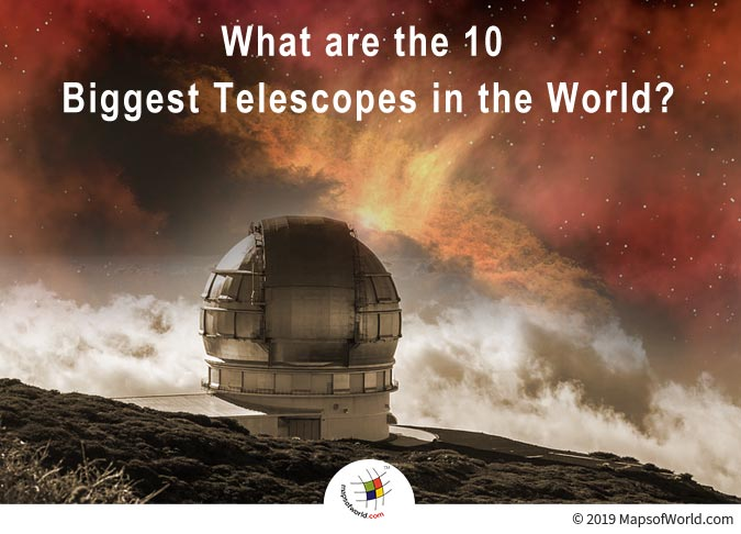 Telescope Helps in Producing a Magnified Image of Distant Objects