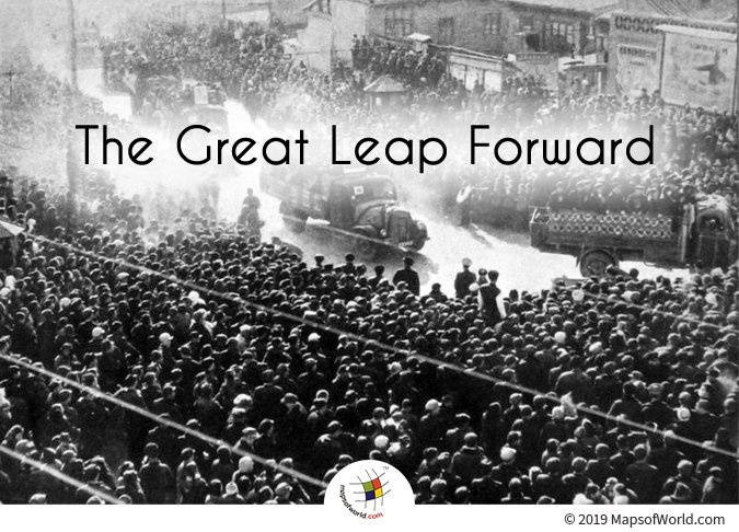 The Great Leap Forward - A Radical Campaign of the Chinese Communist Party