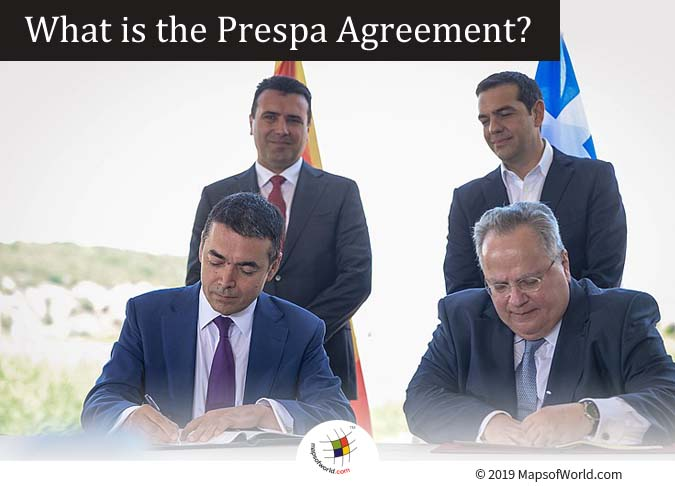 The Prespa Agreement - A Treaty between North Macedonia and Greece