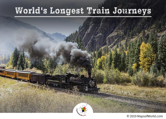 The Trans-Siberian Express - World's Longest Enchanting Train Journeys