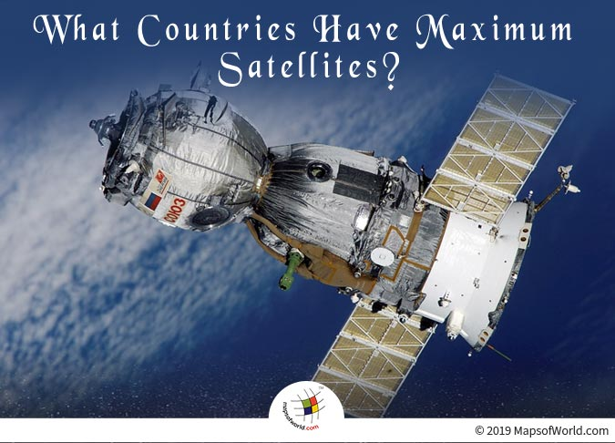 United States has the Maximum Number of Satellites