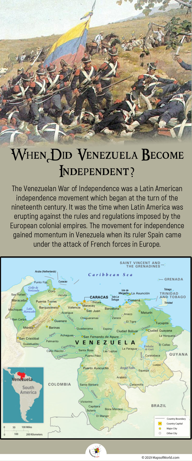 The Venezuelan War of Independence