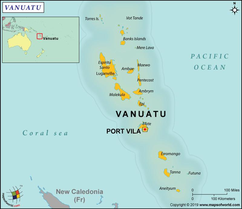 Official Name of Vanuatu - Republic of Vanuatu