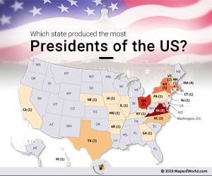 US State which has Produced The Most Presidents