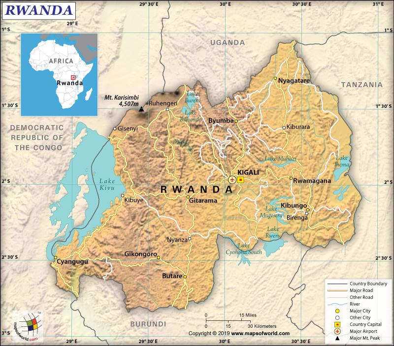 The Official Name of Rwanda is Republic of Rwanda