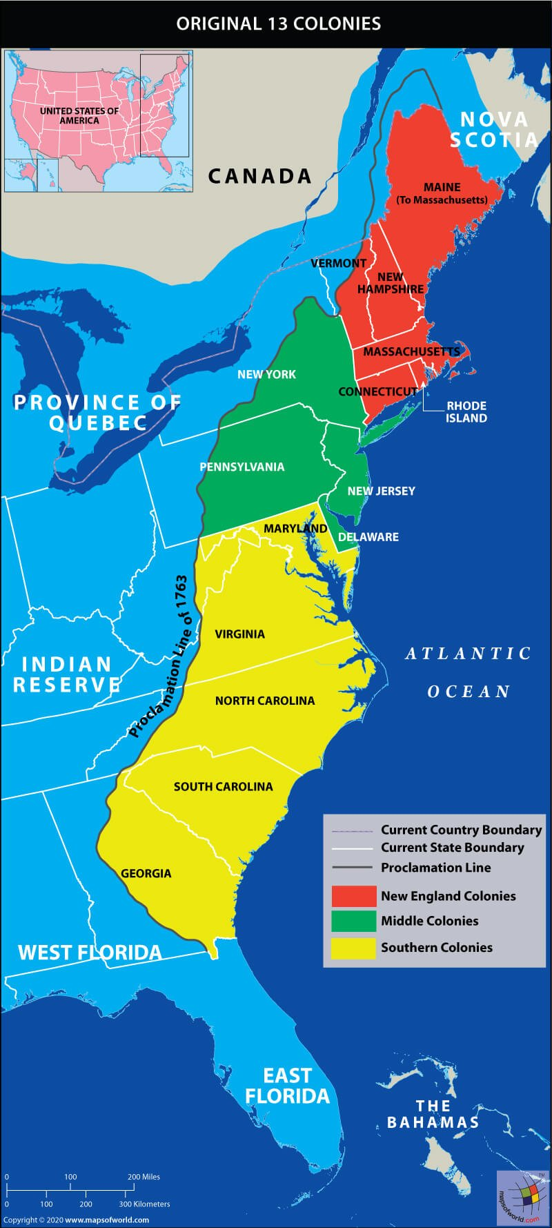 Map Of Original 13 Us Colonies Which were the Original 13 Colonies of the United States?   Answers