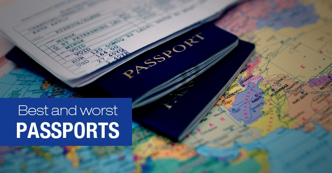 Top 10 Best and Worst Passports in the World