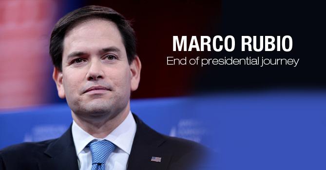 Marco Rubio Quit Presidential Race