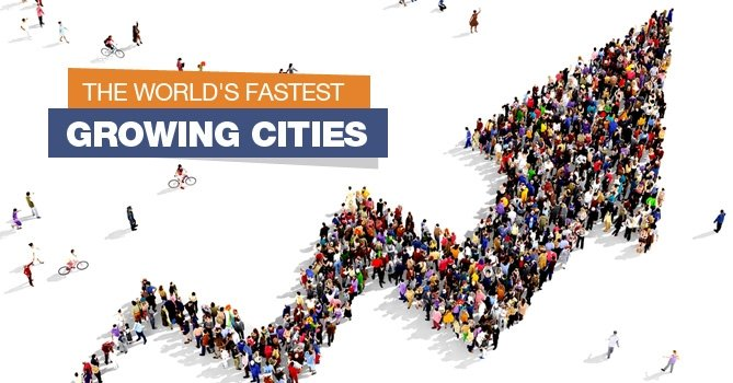 Top 10 Fastest Growing Cities of the World