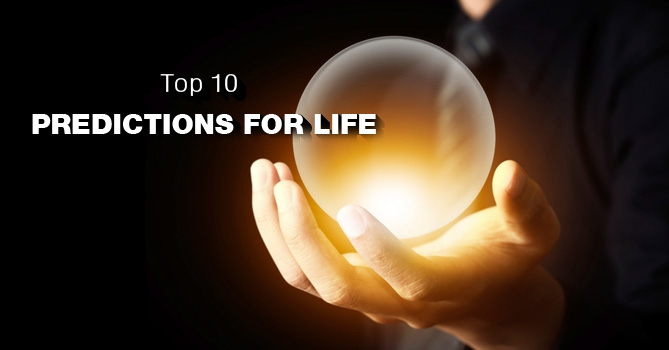Top 10 Predictions for the next 100 Years