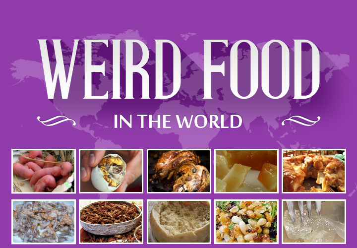 Worst food in the world around the world for Around the world cuisine